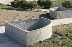 Basalt Rebar Reinforced Concrete Planters at MDI