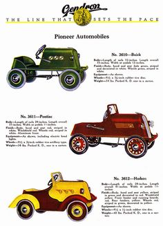Gendron Pedal Cars