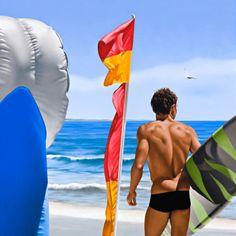 surfer noosa beach Ross Watson