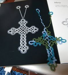 Cross bookmark. These are two different patterns ~ ! ~