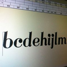 #typography #workinprogress