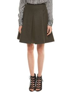 Spotted this L.A.M.B. Pine Double Faced Wool Pleated Skirt on Rue La La. Shop (quickly!).