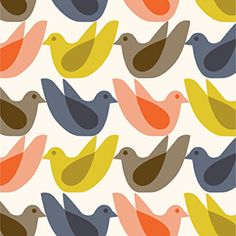 Kids Birdwatch by Orla Kiely