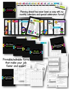It's HERE!! Your ORGANIZATION answer! 450+ pages to help you get more organized in your classroom than ever before! $