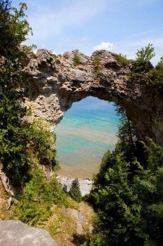 Arch Rock, Mackinaw Island