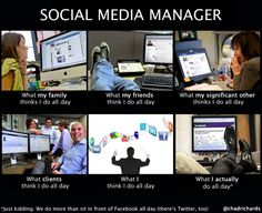 Social Media Manager: How People See Me & What They Think I Do