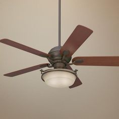 "52"" Casa Optima™ Oil-Rubbed Bronze Ceiling Fan"