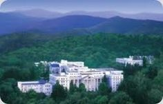 The Mobile, 5-Star Greenbrier Resort located in Mary Gaye's hometown of White Sulphur Springs.
