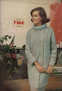 Vogue Knitting Spring / Summer 1965 knit spring, vogu knit, knit coat, vintag knit, hand knit