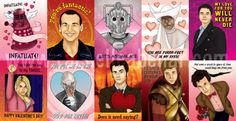 ETA 1/19/12: Last remaining sets ofDoctor Who Valentine's Day Cardshave been listed on Etsy.  ETA 1/11/13: Printable version available for download now!!!
