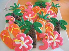 Luau Cookies!