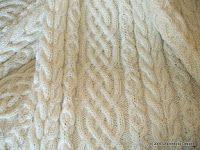 Celtic Aran Afghan Pattern Knitting