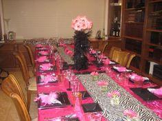 Purim table,