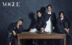 'The Three Musketeers' drama actors pose for Vogue Korea