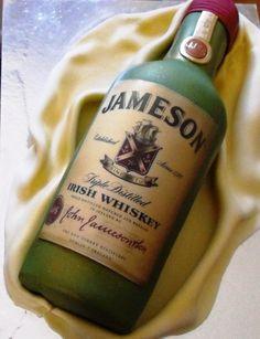 Jameson Irish Whiskey Cake