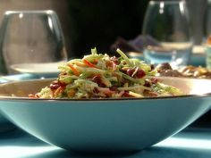 Broccoli and Dill Raita Slaw by Aarti Sequeira on Food Network