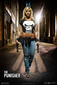 Alyssa Loughran as The Punisher   From The Punisher Photo by jeffzoet