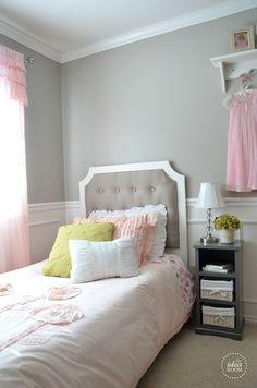 Adorable little girl room!