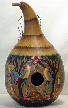 Gourds Birdhouse
