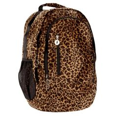 Rolling leopard print Book Bags for College | Leopard Animal Print