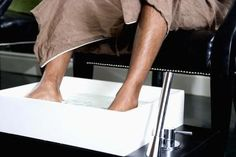 Get rid of dry, calloused feet.  This is one I'm definitely going to try.