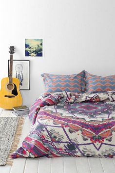 Magical Thinking Mountain Medallion Duvet Cover #urbanoutfitters