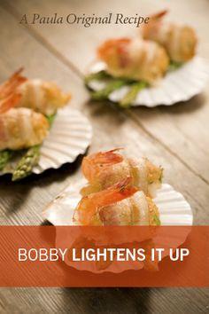 Bobby's Lighter Crab-Stuffed Shrimp