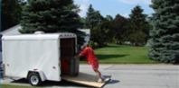 """Can You Convert an Enclosed Trailer Into a Camper? - """"Enclosed trailers have a strong frame, and they are often converted into a camper by making just a few modifications."""""""