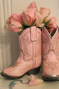 Little PINK boots