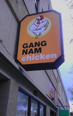 Gangnam Style Chicken Restaurant Now?