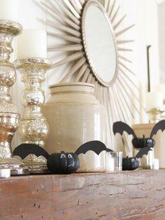 Mini Bat Pumpkins : Decorating : Home & Garden Television
