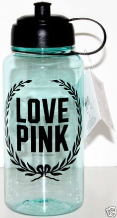 NEW! VICTORIA'S SECRET PINK COLLECTION WATER BOTTLE
