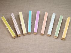 Clothespin with Japanese Masking Tape