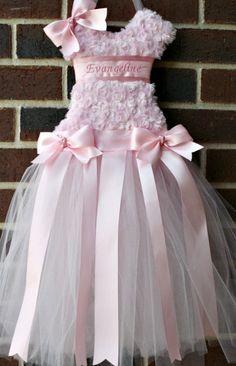 Tutu Bow Holder  Princess Pink Organize by LittlePinkDragonfly, $45.00