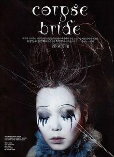 tim burton corpse bride makeup