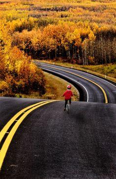 An endless road! http://bike2power.com