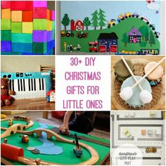 30  DIY Christmas Gifts for Little Ones