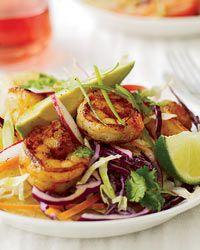 Chipotle Shrimp Tostadas  http://VIPsAccess.com/luxury/hotels/caribbean.html