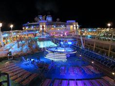 Royal Caribbean's Allure of the Sea may 2013