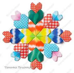 Mosaic of hearts DIY .... http://stranamasterov.ru/technics/heart_mosaic.html