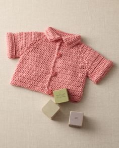 Cute baby sweater.