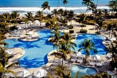 Rio Mar Beach Resort in Puerto Rico. No passport required for US Citizens! #vacation