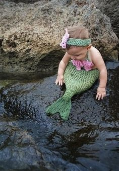 Mermaid Costume -19 Creative Costumes For Babies Who Are Too Young To Walk