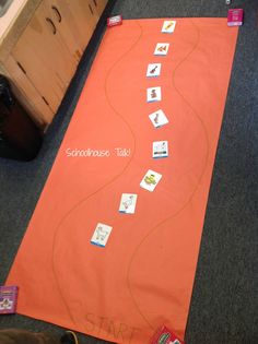 Speech Path -  A road-themed activity my students loved! - Pinned by @PediaStaff – Please Visit ht.ly/63sNtfor all our pediatric therapy pins