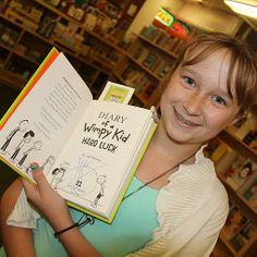 Press Democrat | Gallery | 'Wimpy Kid' book signing  #HardLuck  #JeffKinney #WimpyKid