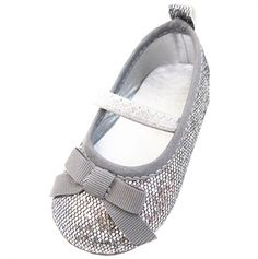 Silver Flat with Bow