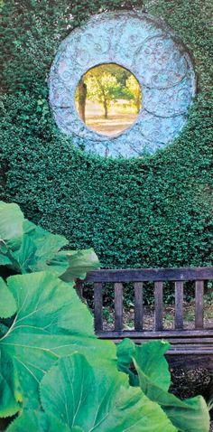 Garden window.