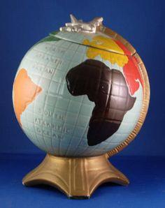 McCoy Globe Cookie Jar