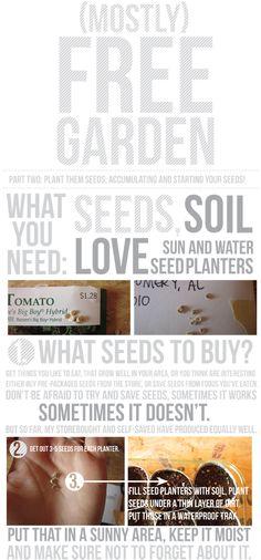 free veggie garden