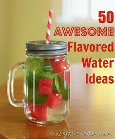 Bikram Yoga Salt Lake City: Tip of the Week: 50 Awesome Flavored Water Ideas